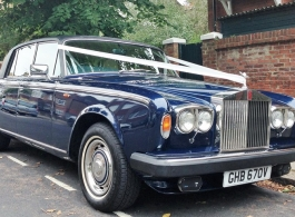 Rolls Royce Silver Shadow for weddings in London